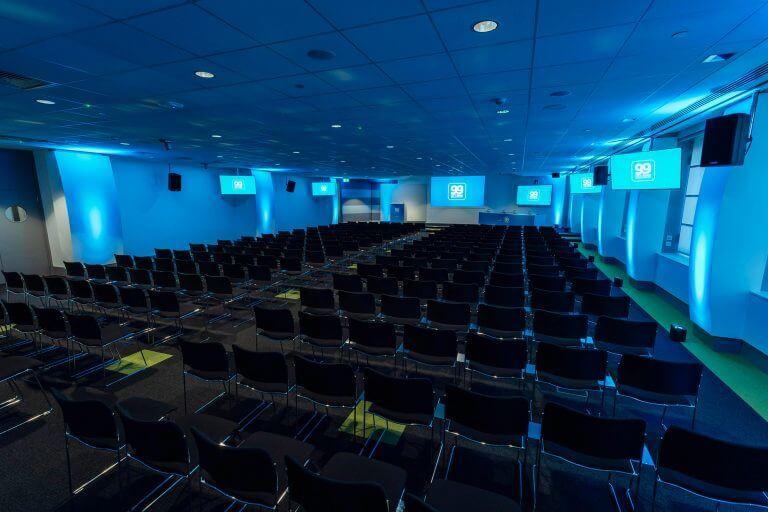 conference venue main room