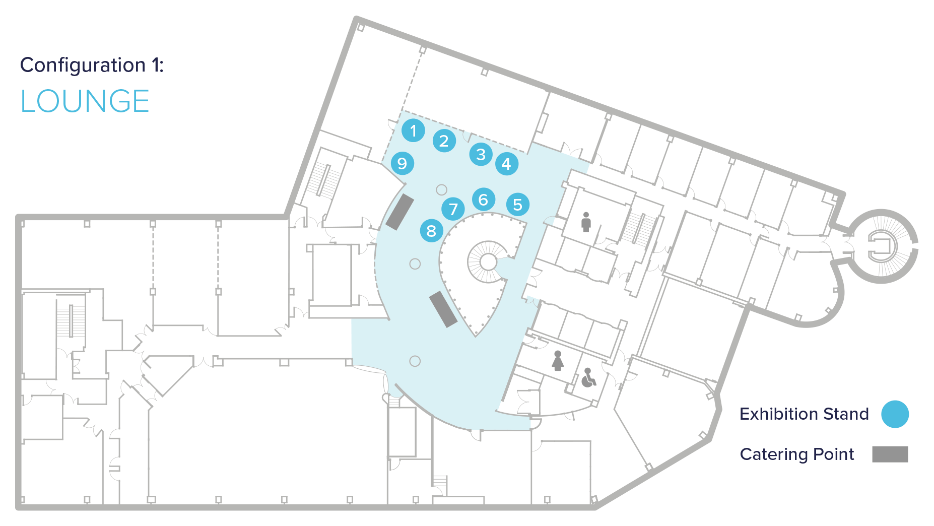 conference exhibitor floor plans
