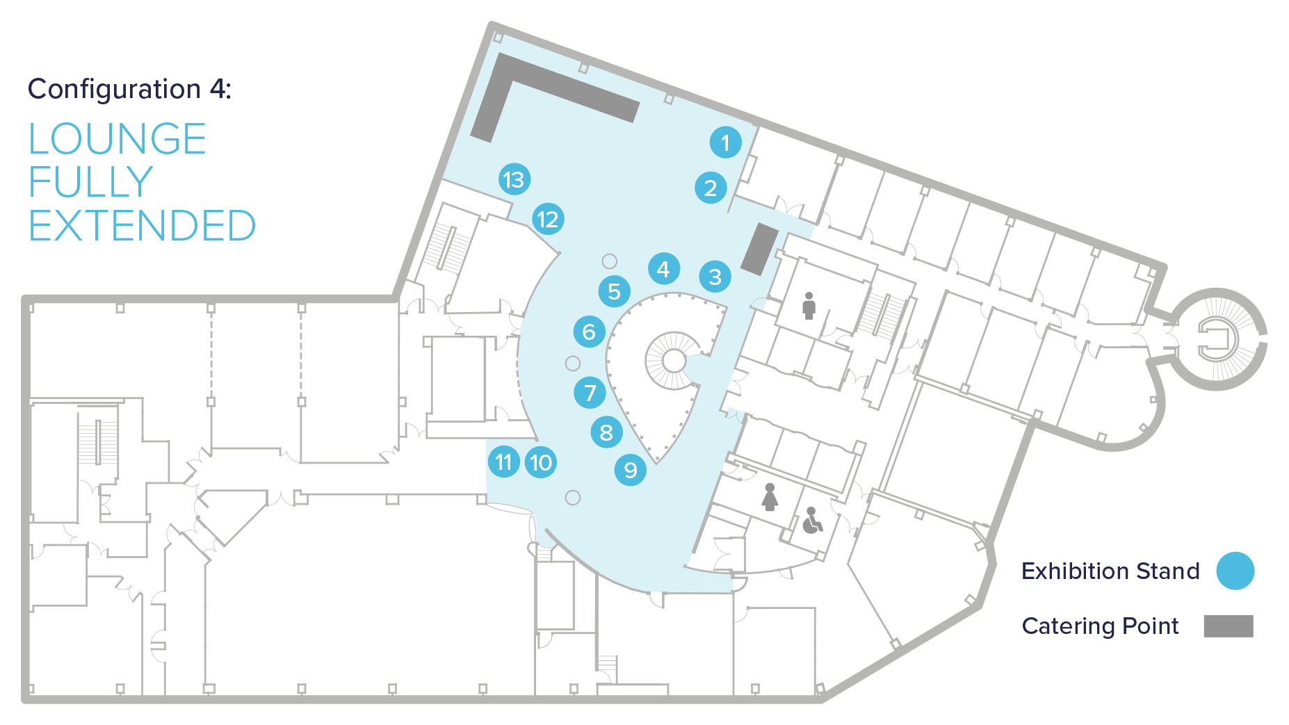 conference centre exhibition floor plans