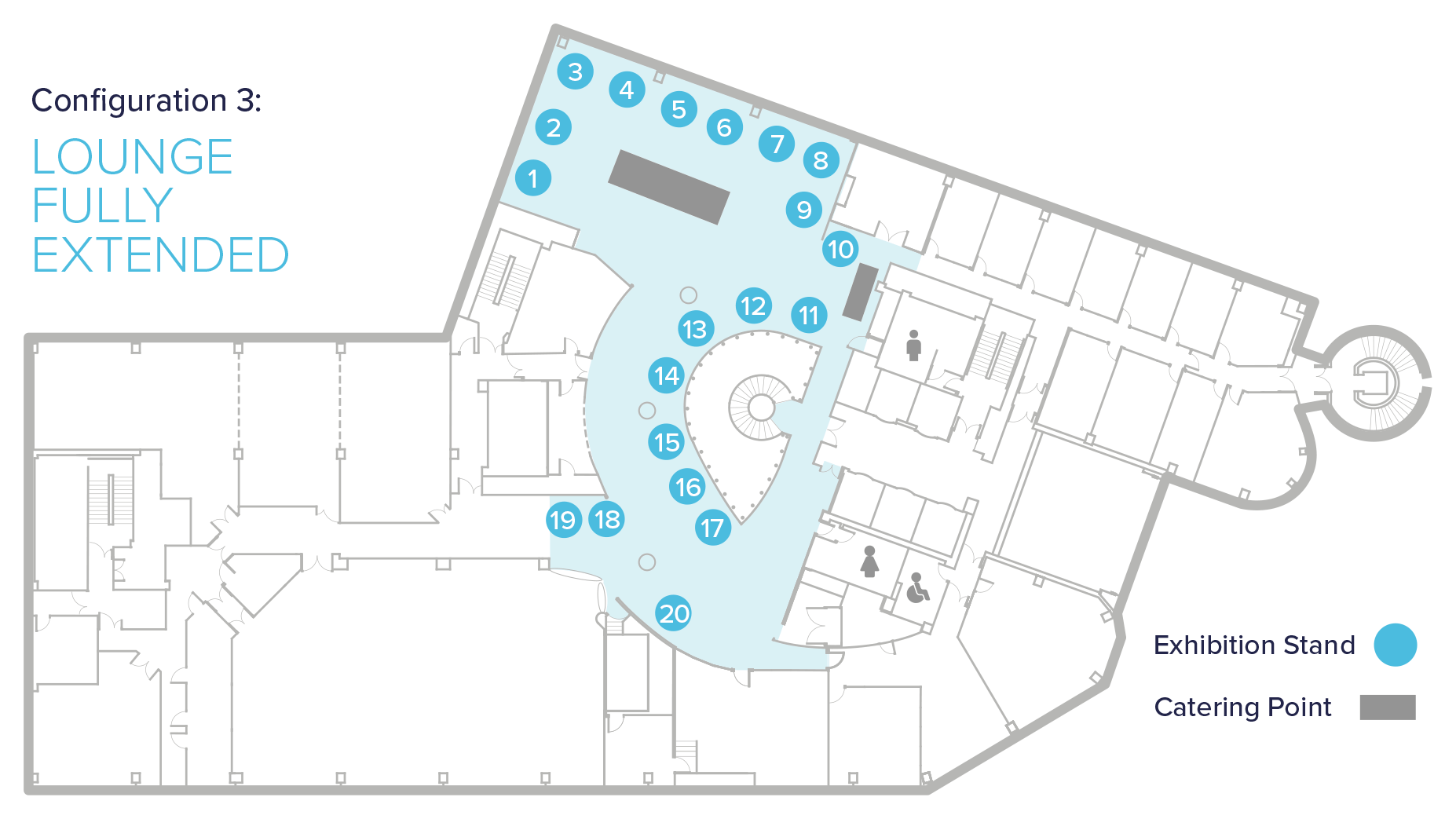 exhibition floor plans
